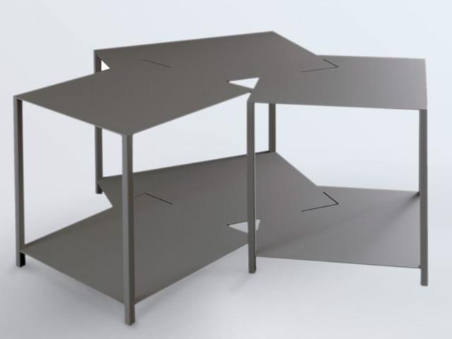 Tavolino je suis bas arti mestieri tavolino arti mestieri for Oggettistica moderna on line