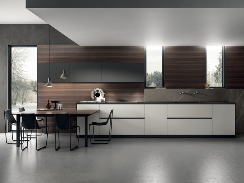 Cucina aster contempora cucina moderna aster for Arredamenti moderni cucine