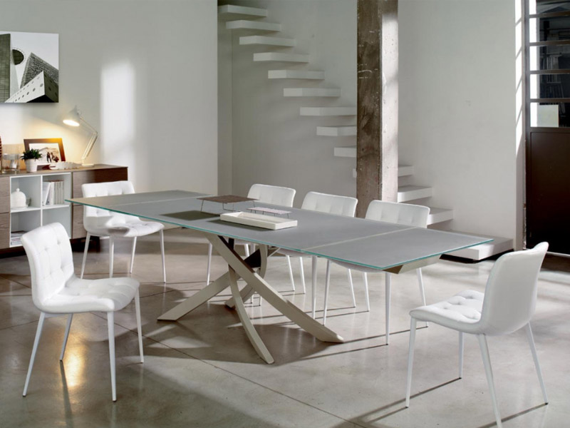 Tavolo artistico bontempi allungabile - Tavolo e sedie moderne ...