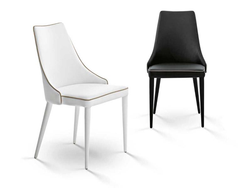 Sedia clara bontempi for Offerte sedie moderne