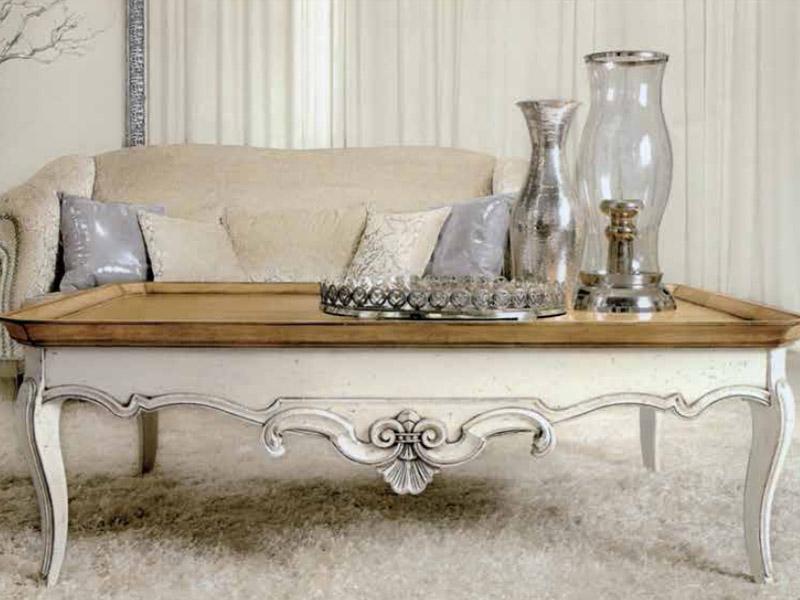 Tavolino classico da caffe with mobili stile classico moderno - Di mauro mobili ...