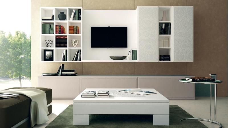 Stilema soggiorno collezione st tropez for Arredamenti moderni soggiorni