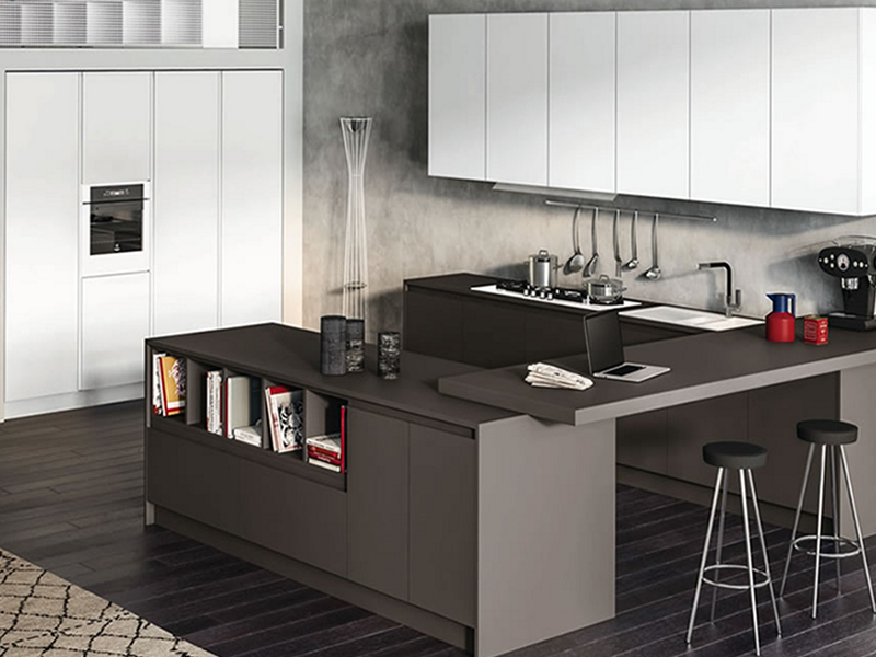 Cucina atra avantgarde cucina moderna atra - Arredamenti moderni cucine ...